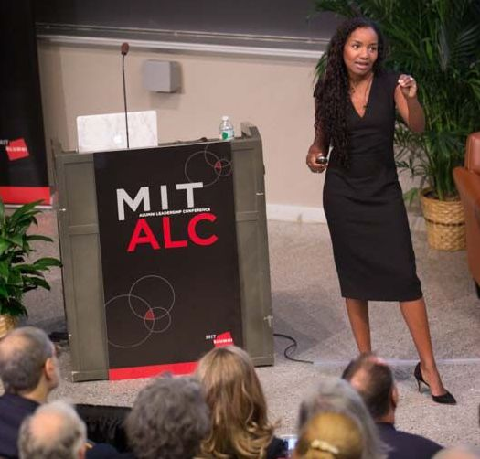 Presenting at the annual Alumni Leadership Conference (ALC)