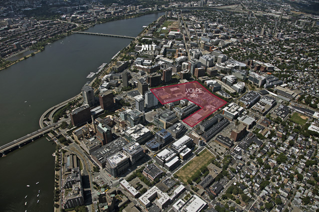 MIT files rezoning petition for Volpe site