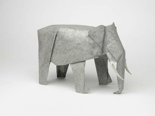 Model African Elephant 75 Steps