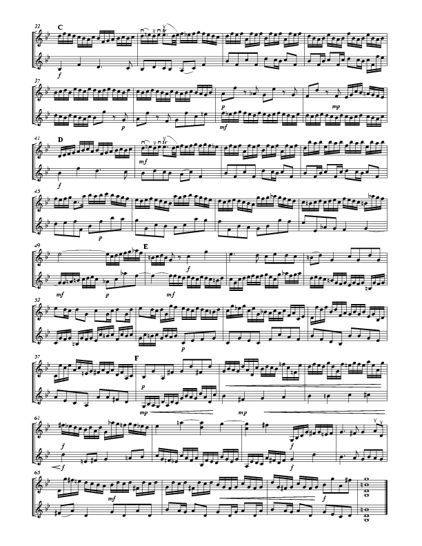 J S  Bach: Little Fugue in g Minor