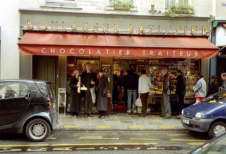 A Chocolate Store In Paris