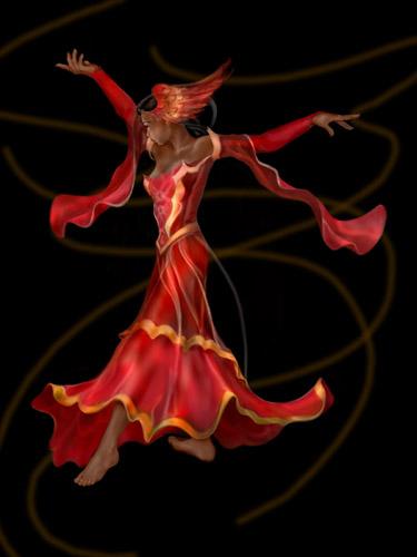Nadine, firebird