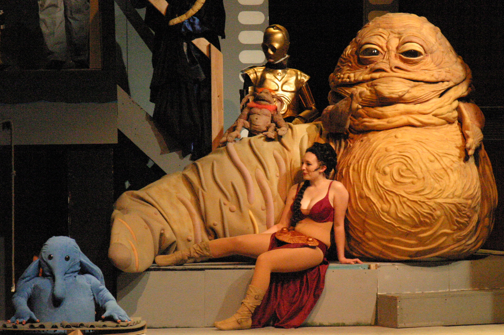 MTG - Star Wars Trilogy: Musical Edition (2005) - Photos Jabba The Hutt And Leia