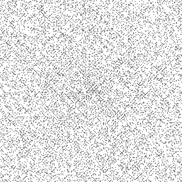 Ulam spiral 5n+1